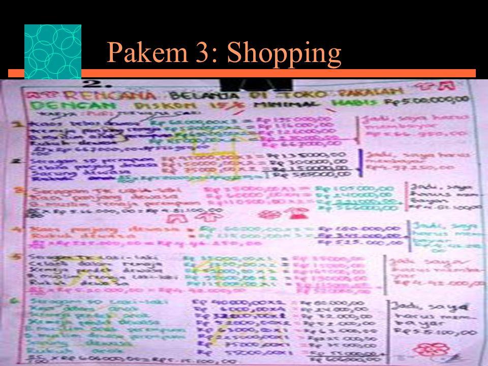 Pakem 3: Shopping