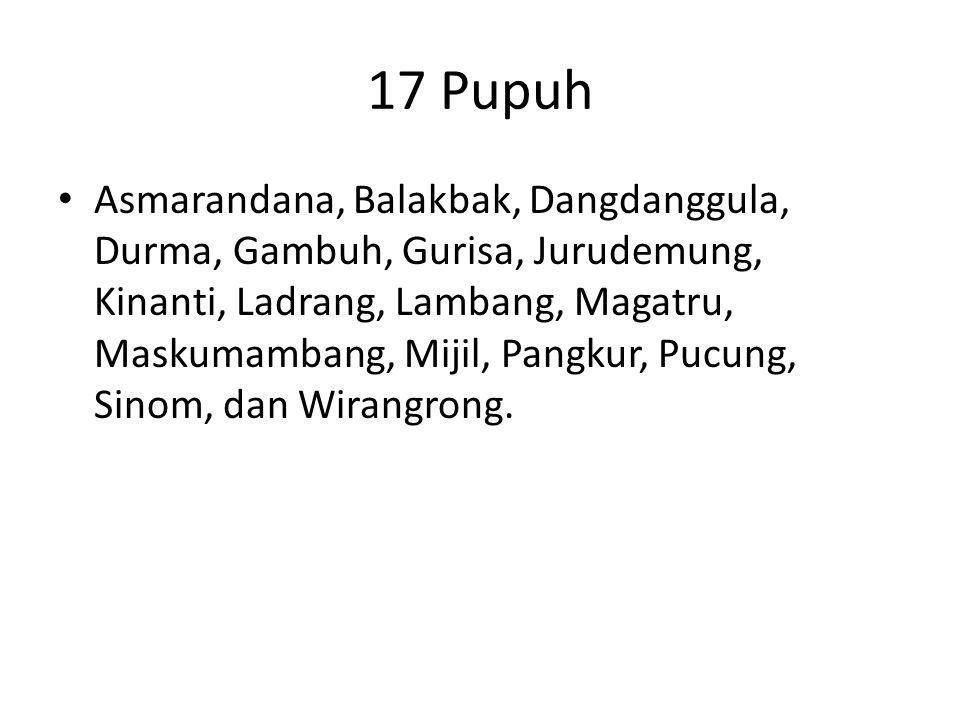 17 Pupuh