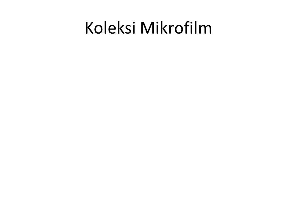 Koleksi Mikrofilm