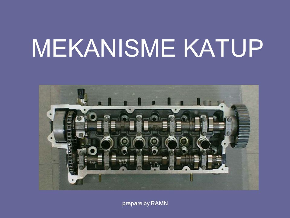 MEKANISME KATUP prepare by RAMN