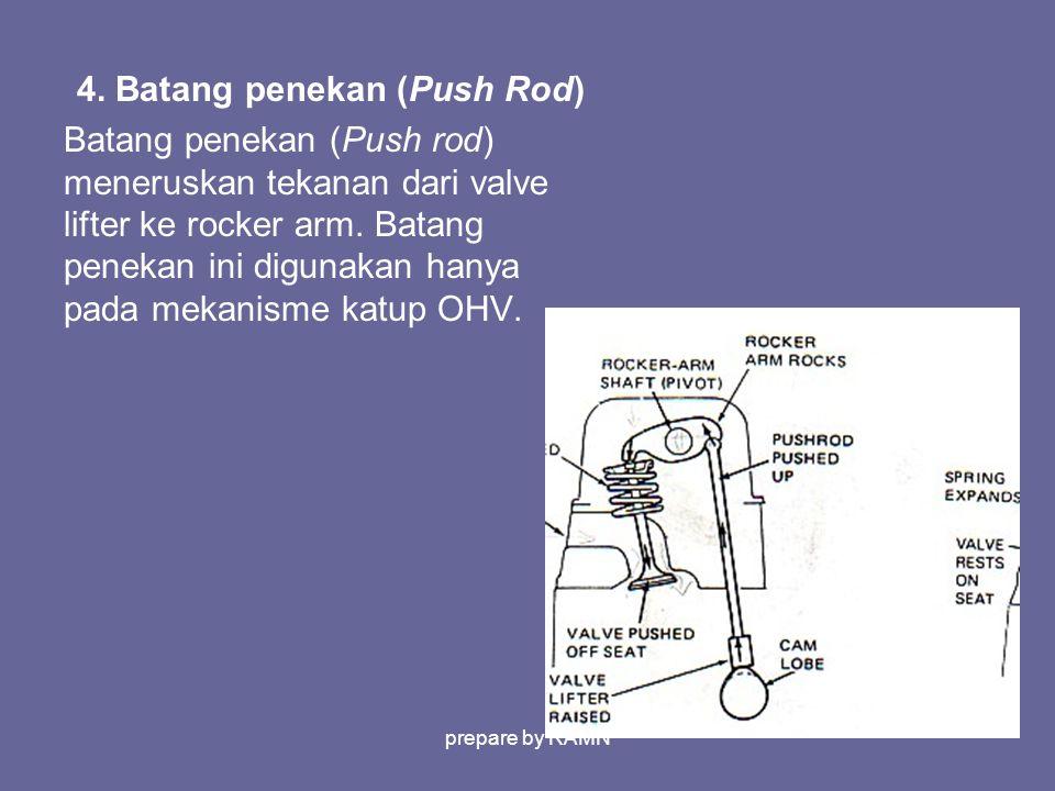 4. Batang penekan (Push Rod)