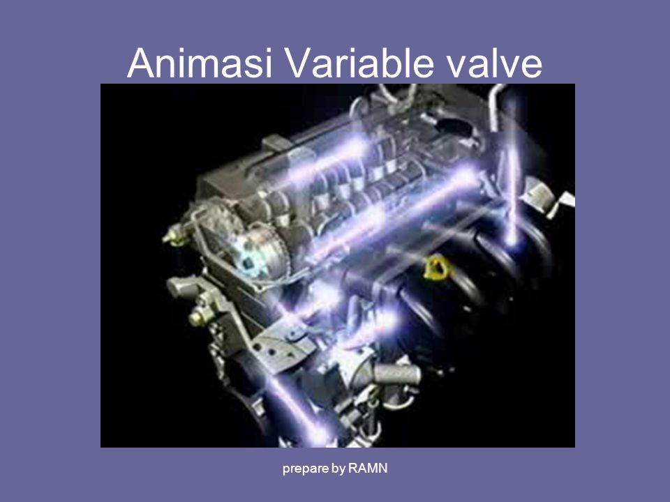 Animasi Variable valve