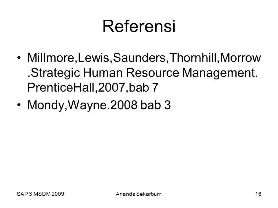 Perencanaan SAP 3 MSDM 2009 Referensi.