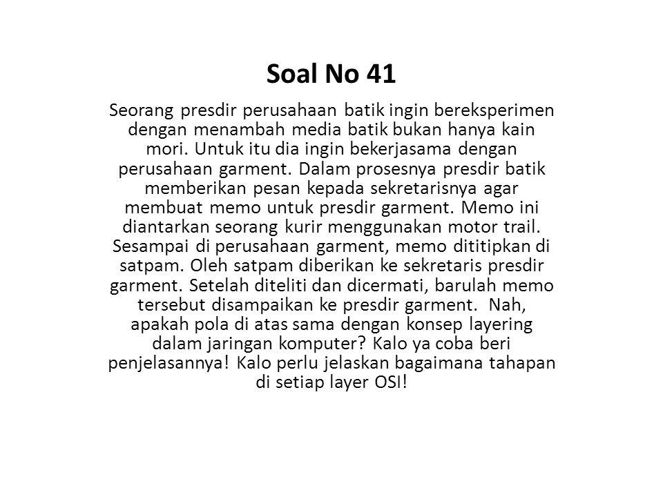 Soal No 41