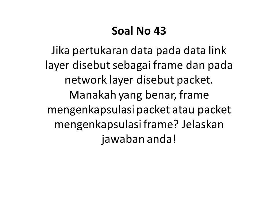 Soal No 43