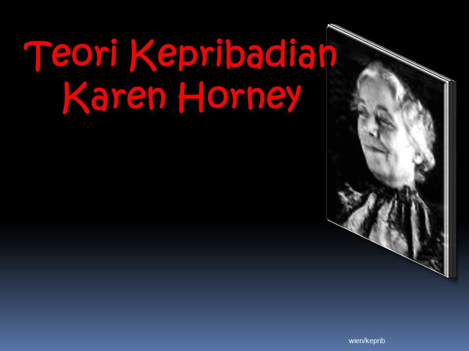 Teori Kepribadian Karen Horney
