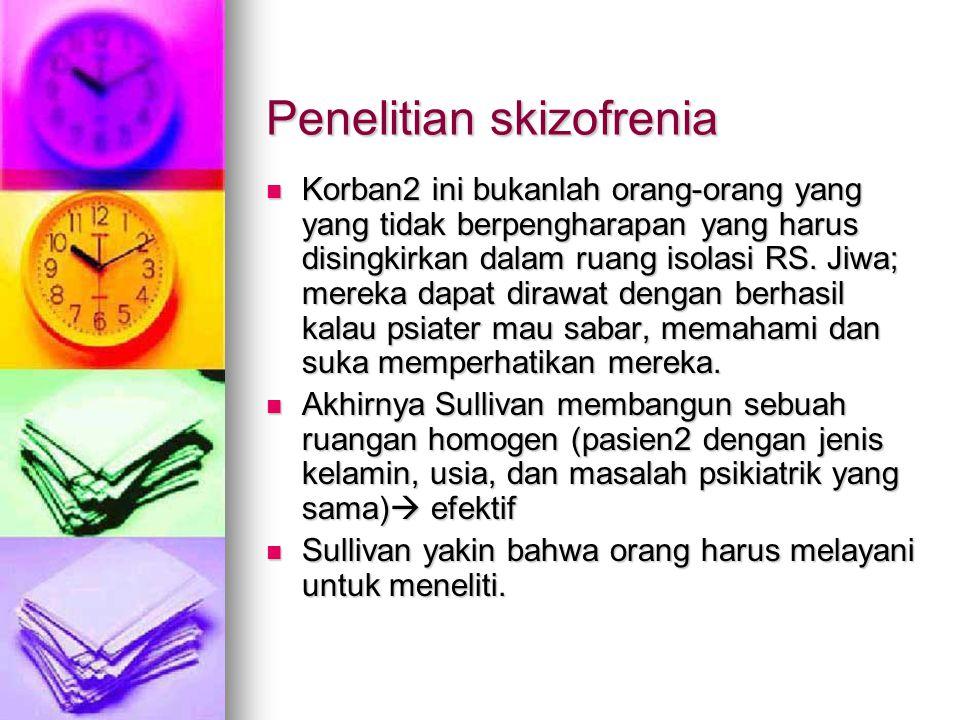 Penelitian skizofrenia