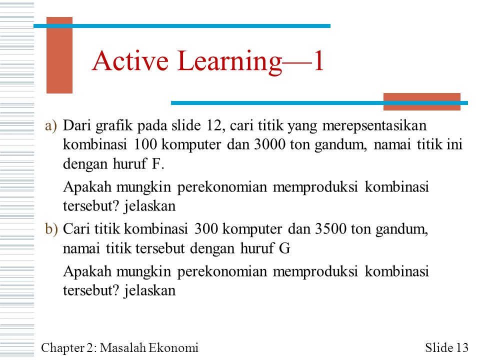 Active Learning—1
