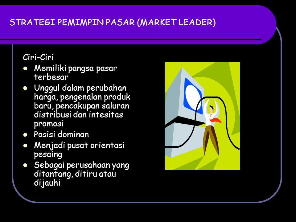 STRATEGI PEMIMPIN PASAR (MARKET LEADER)