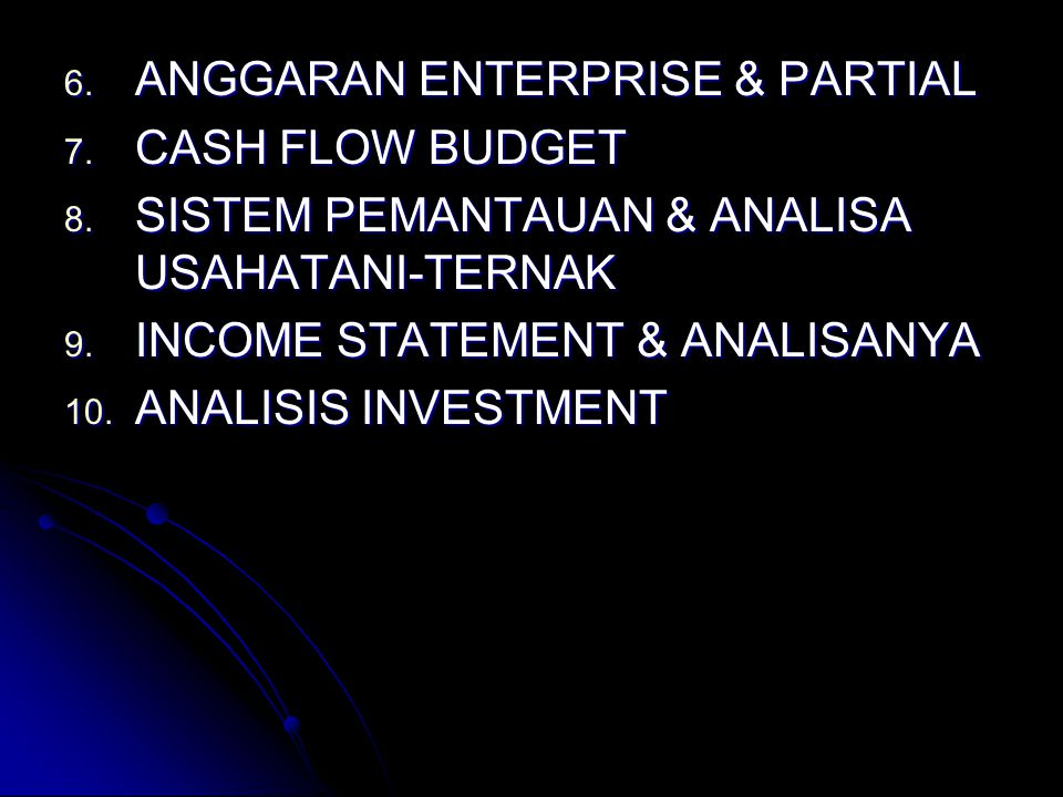 ANGGARAN ENTERPRISE & PARTIAL