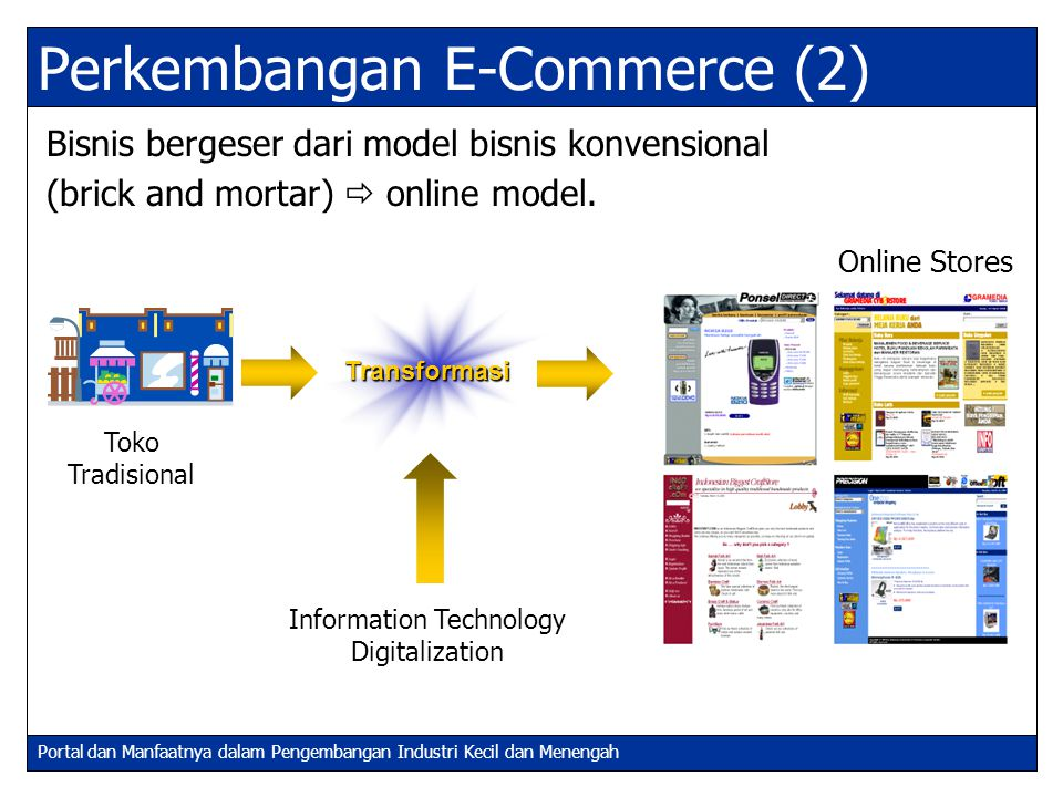 Perkembangan E-Commerce (2)