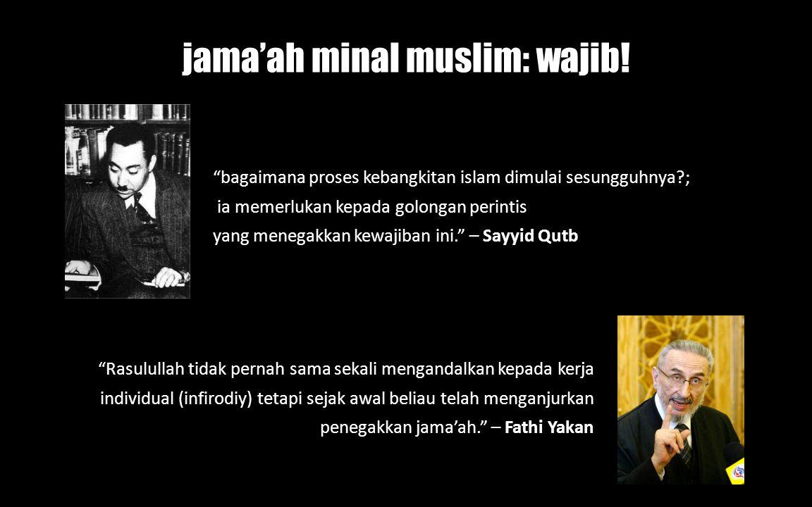 jama'ah minal muslim: wajib!