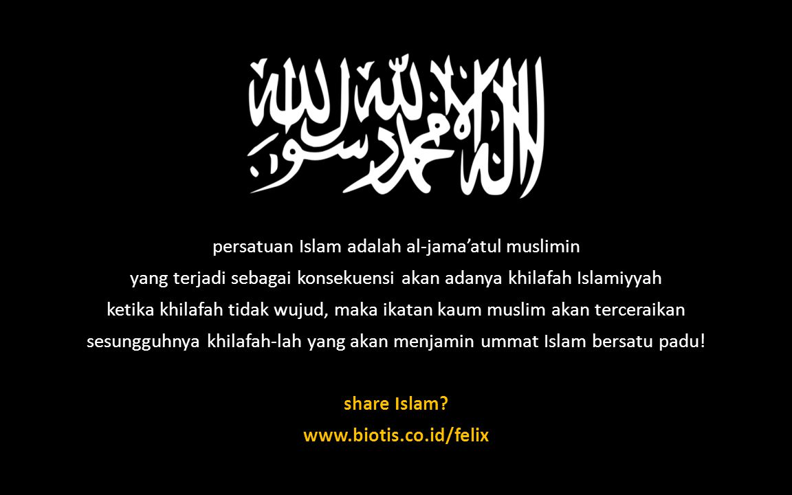 share Islam www.biotis.co.id/felix