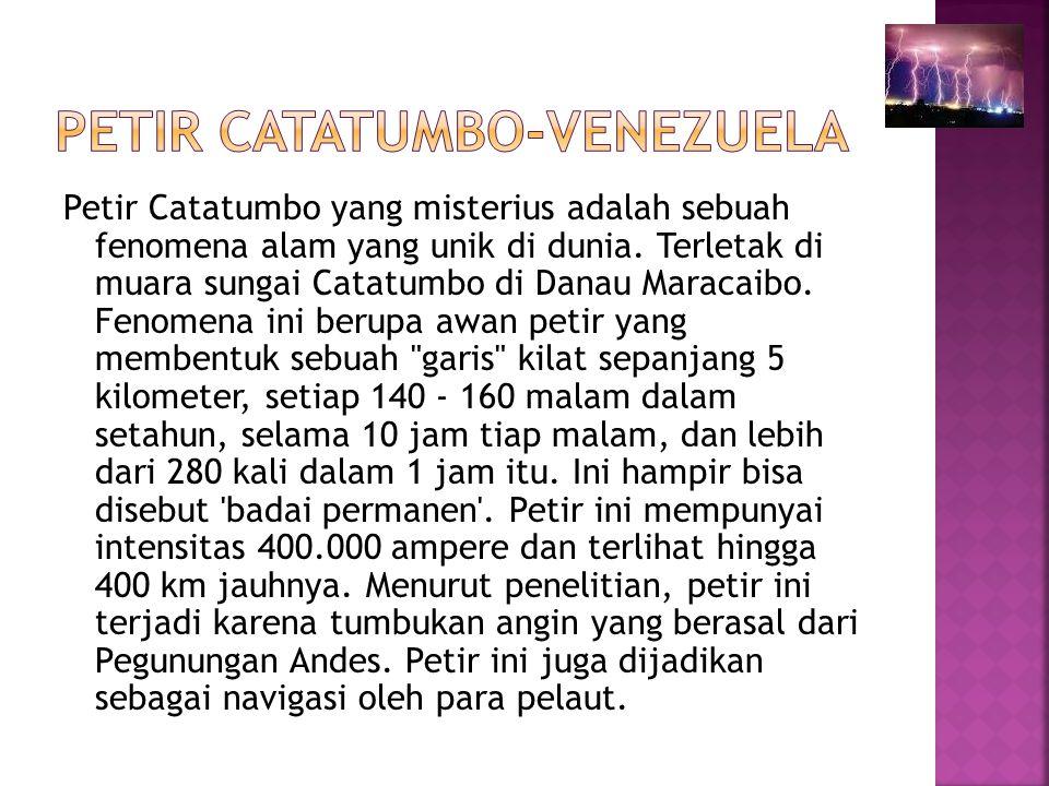 Petir Catatumbo-venezuela