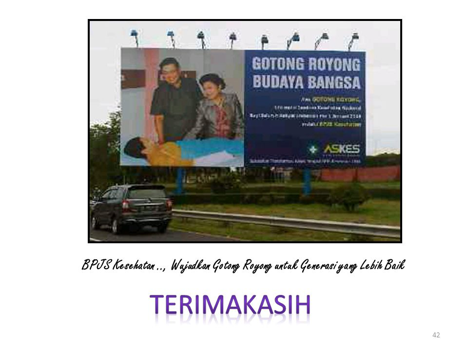 BPJS Kesehatan .., Wujudkan Gotong Royong untuk Generasi yang Lebih Baik