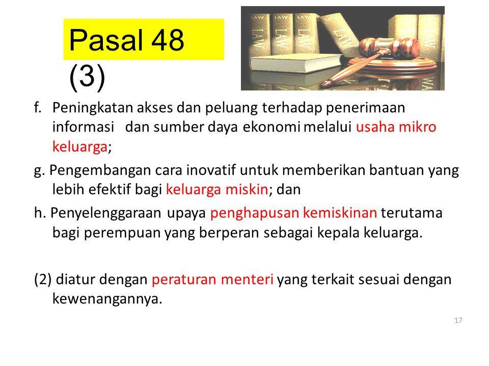 Pasal 48 (3)