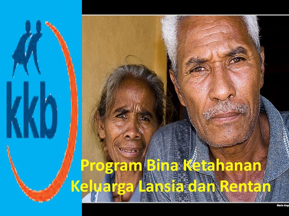 Program Bina Ketahana Keluarga Lansia dan Rentan