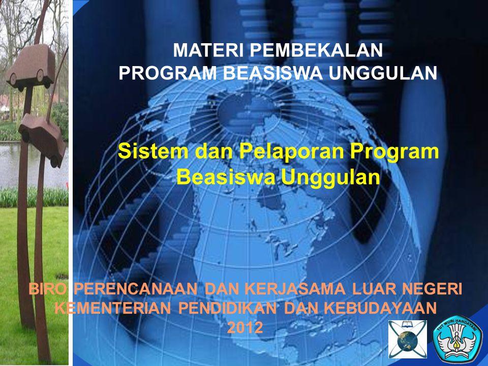 Sistem dan Pelaporan Program Beasiswa Unggulan