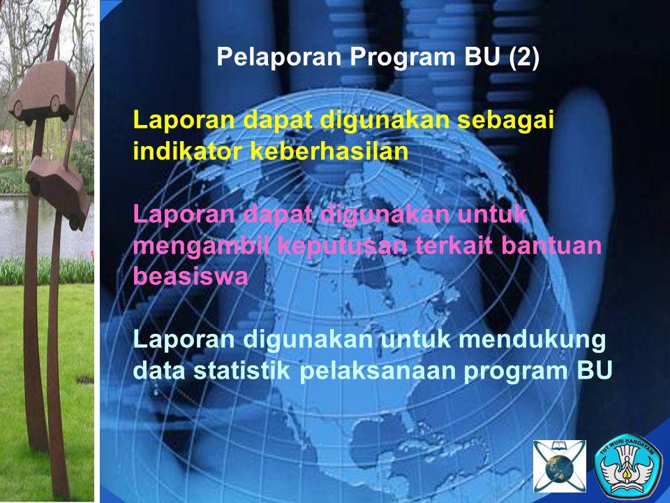 Pelaporan Program BU (2)