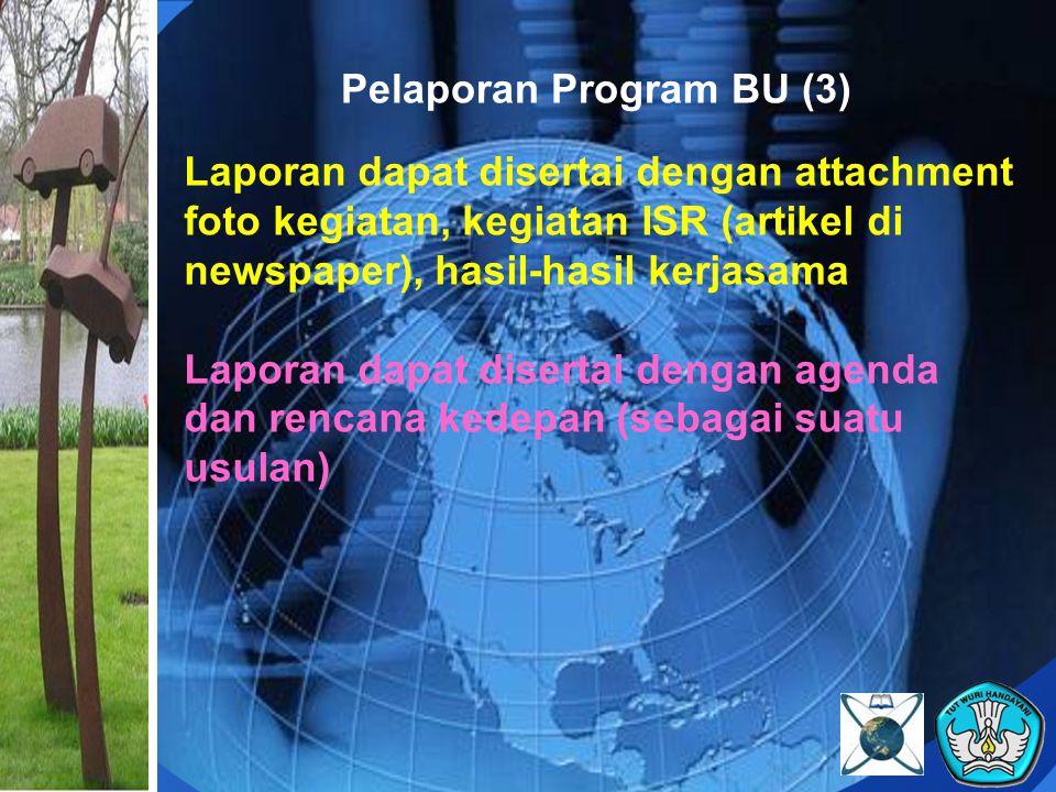 Pelaporan Program BU (3)
