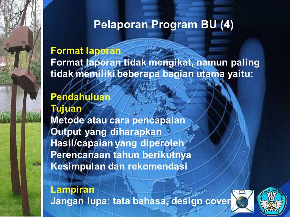Pelaporan Program BU (4)