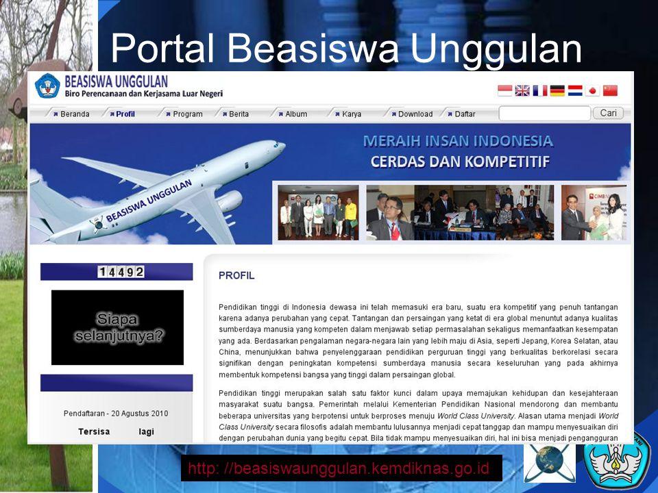 Portal Beasiswa Unggulan