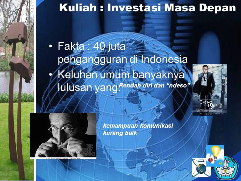 Kuliah : Investasi Masa Depan