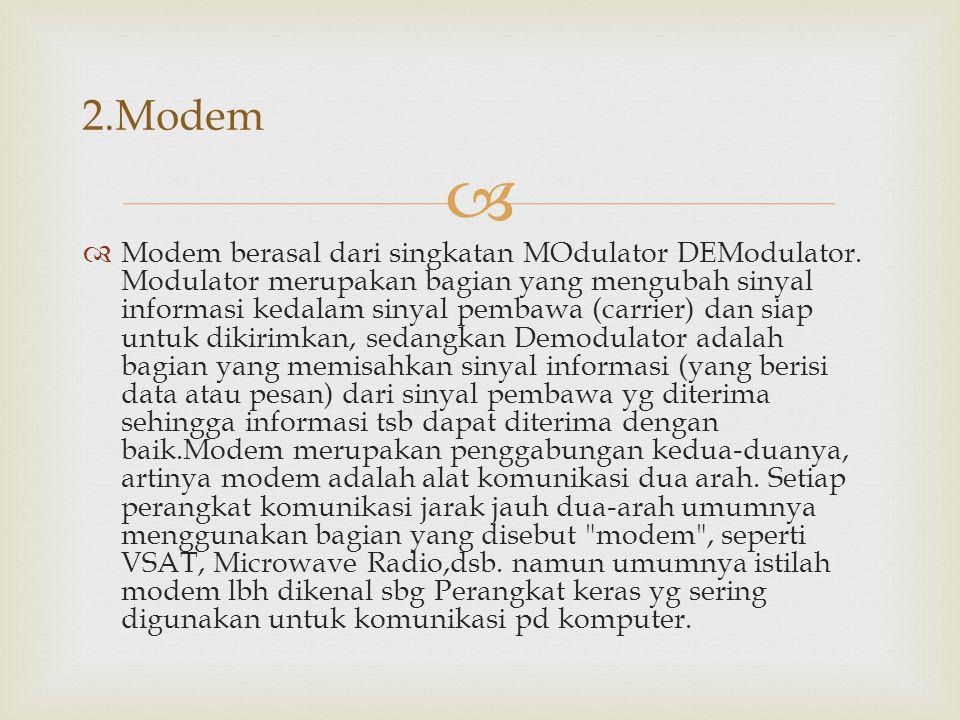 2.Modem