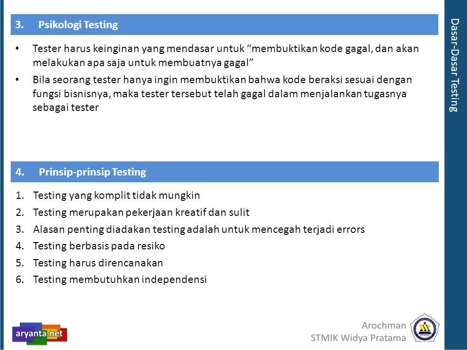 3. Psikologi Testing Dasar-Dasar Testing.