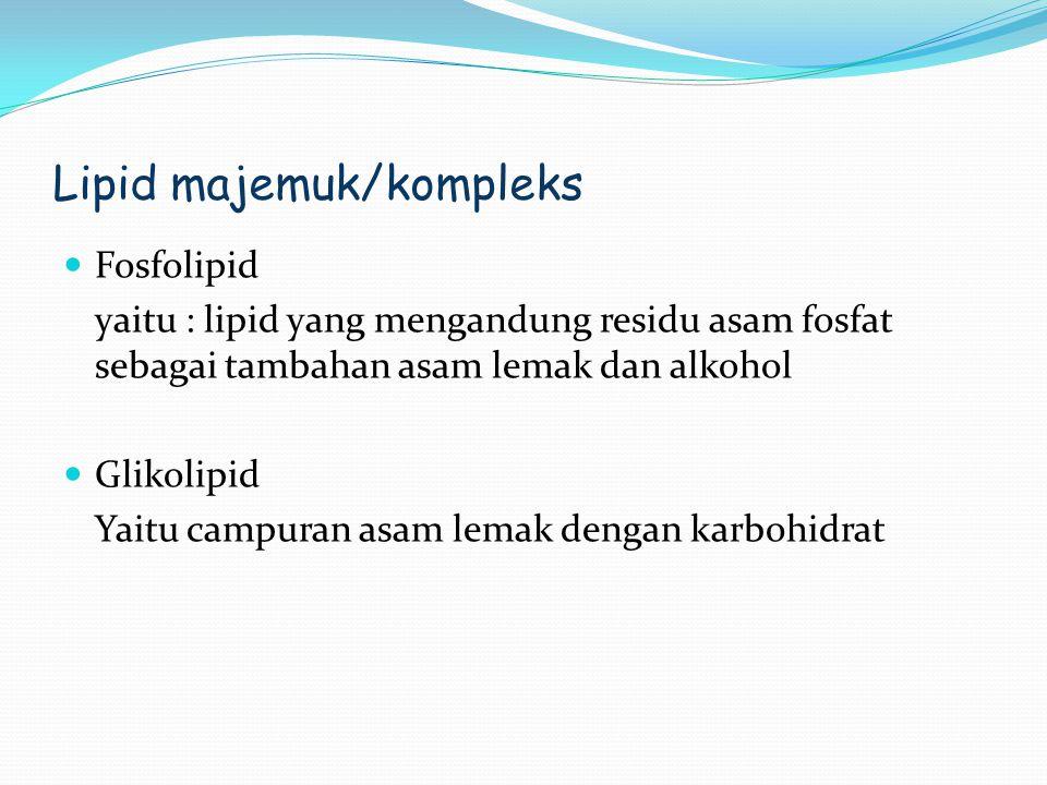 Lipid majemuk/kompleks