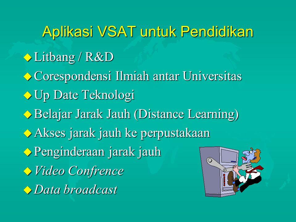 Aplikasi VSAT untuk Pendidikan