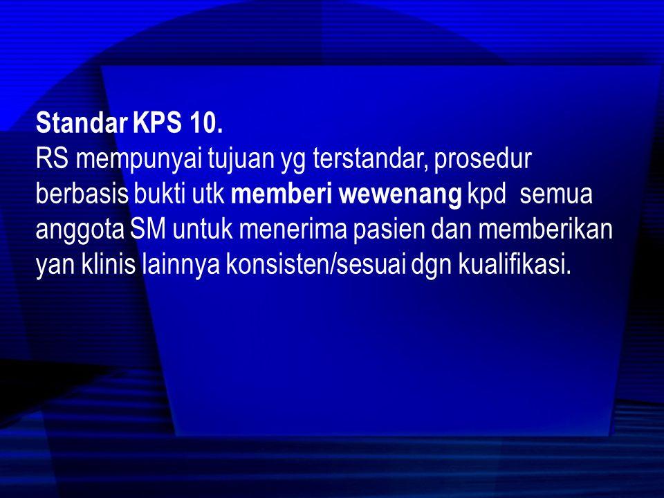 Standar KPS 10.