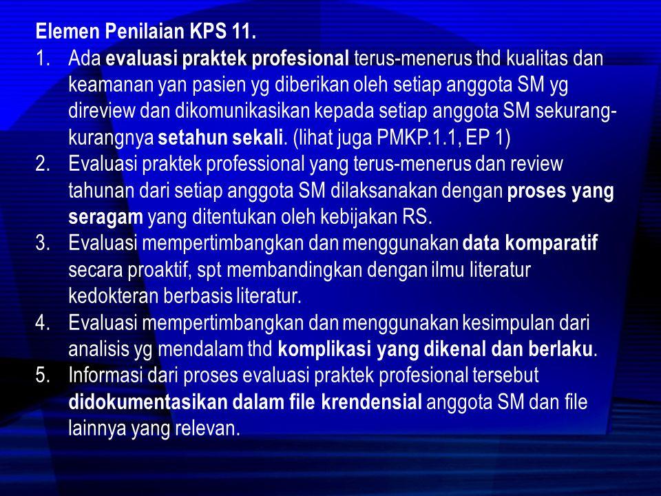 Elemen Penilaian KPS 11.
