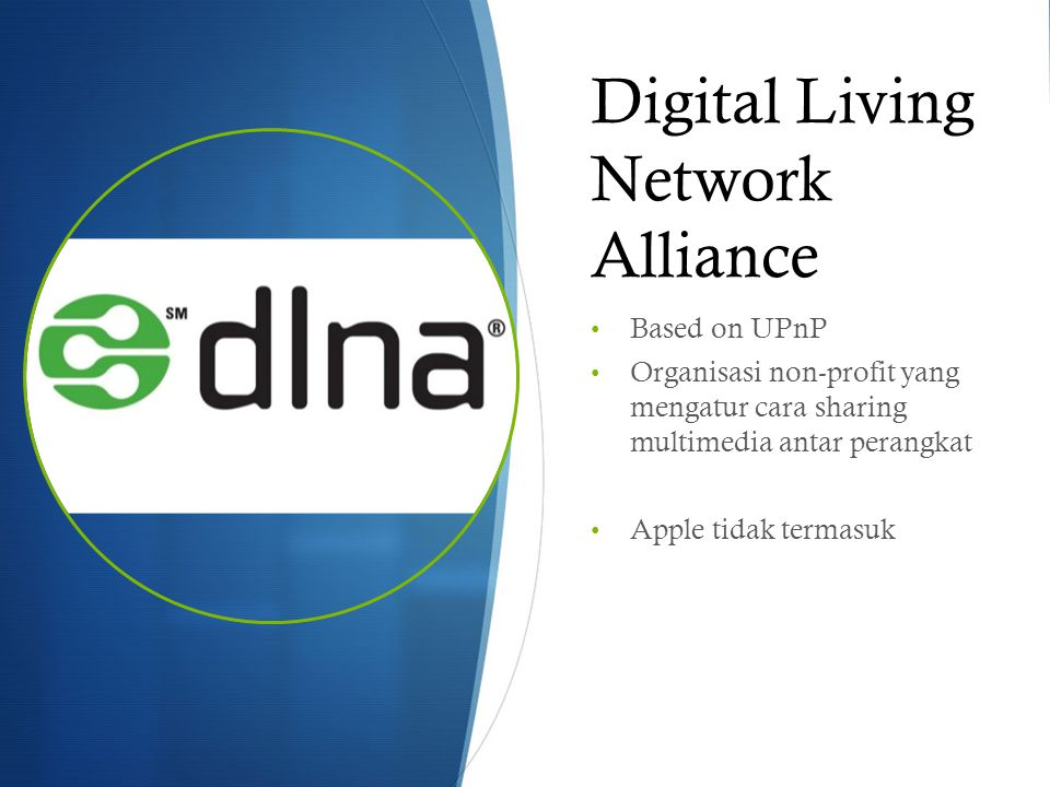 Digital Living Network Alliance