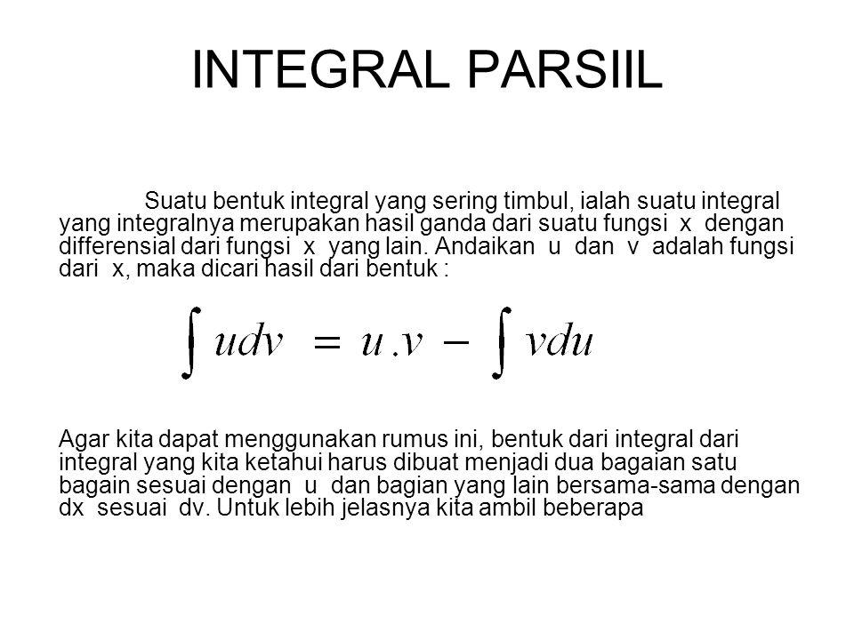 INTEGRAL PARSIIL