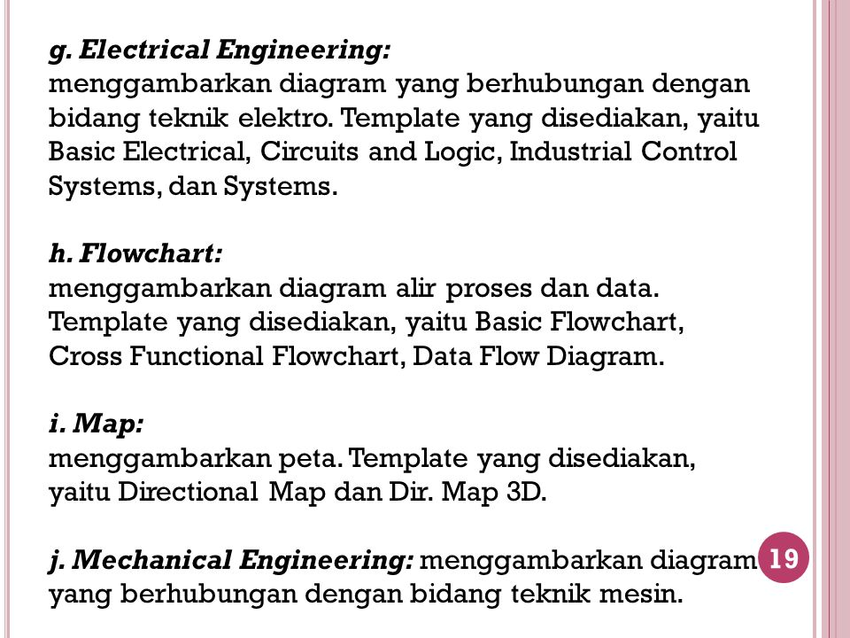 g. Electrical Engineering: