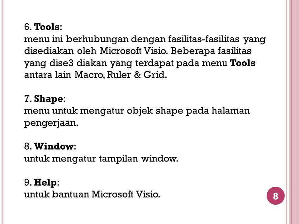6. Tools: