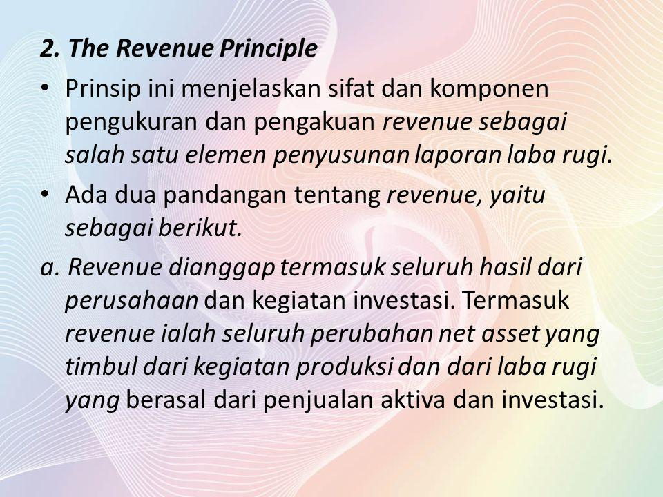 2. The Revenue Principle