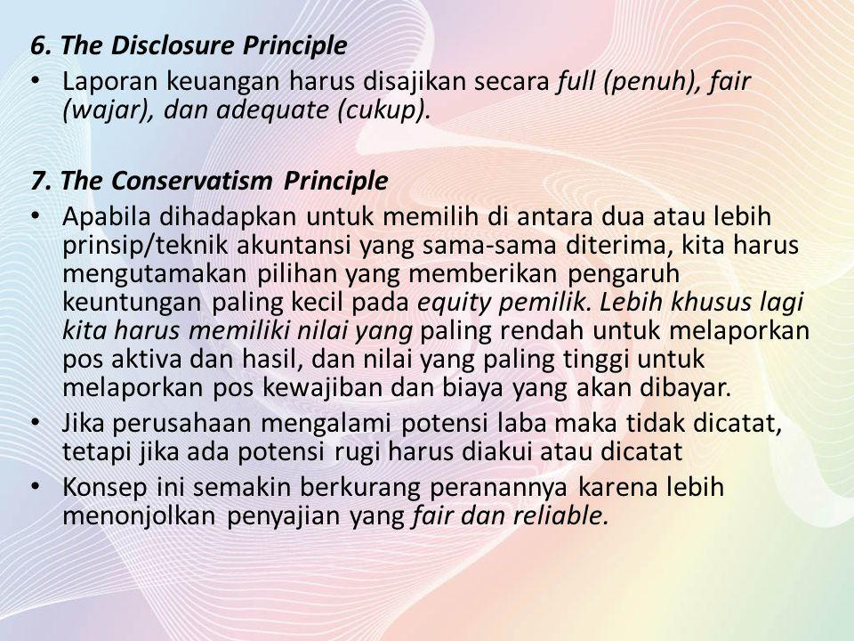 6. The Disclosure Principle