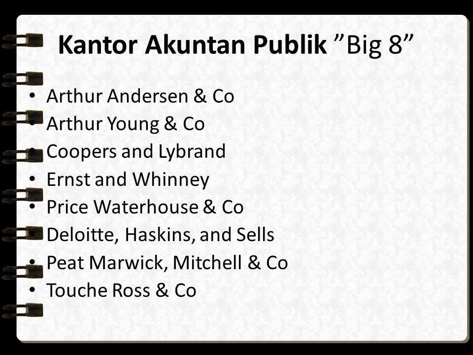 Kantor Akuntan Publik Big 8