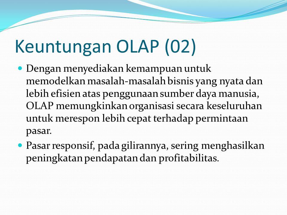 Keuntungan OLAP (02)