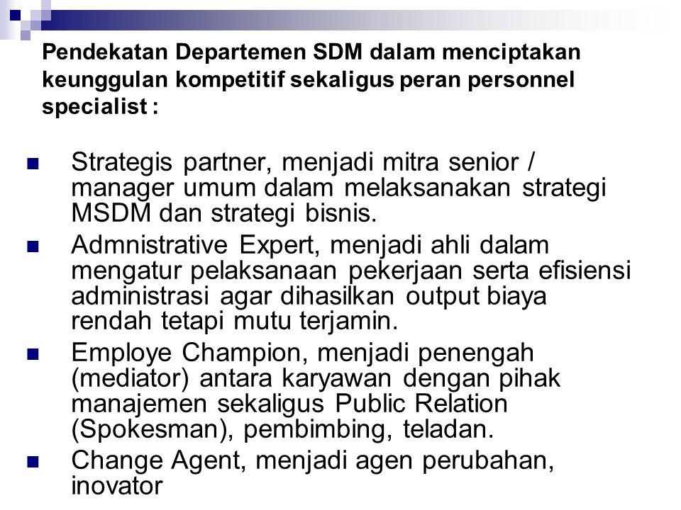 Change Agent, menjadi agen perubahan, inovator