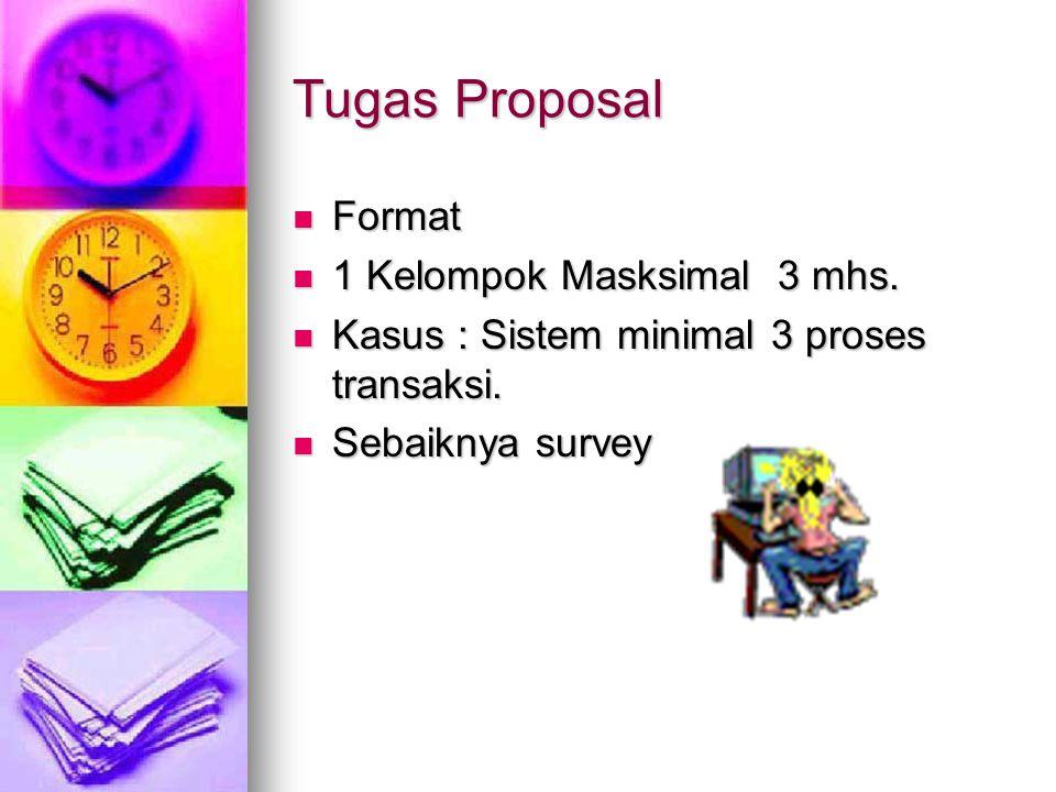 Tugas Proposal Format 1 Kelompok Masksimal 3 mhs.