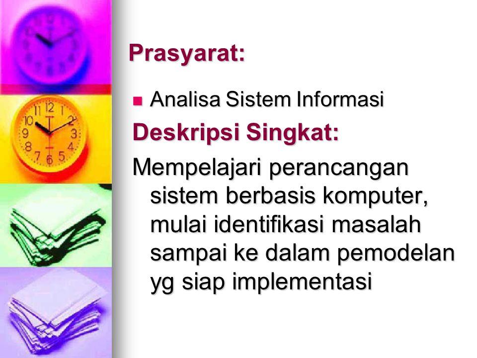 Prasyarat: Deskripsi Singkat: