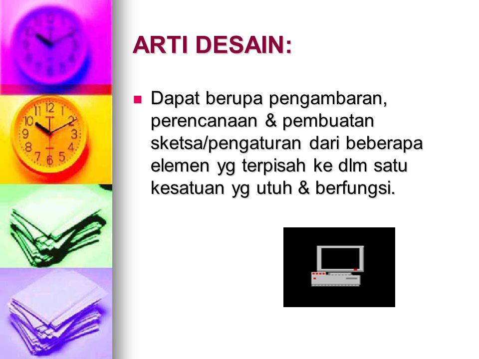 ARTI DESAIN: