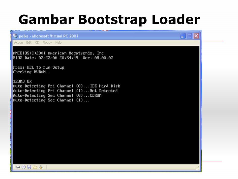 Gambar Bootstrap Loader