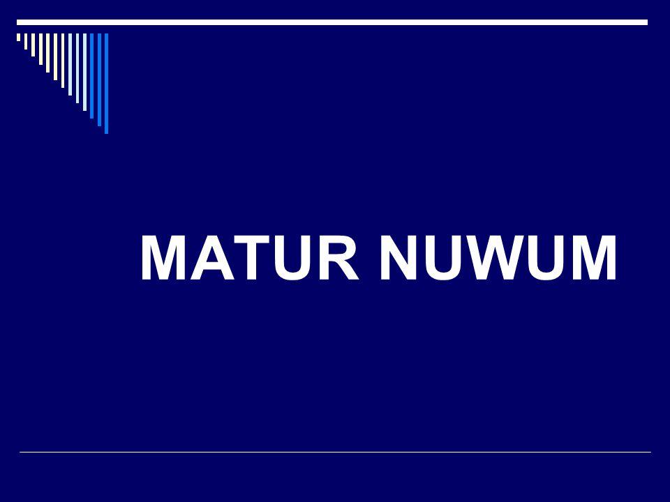 MATUR NUWUM