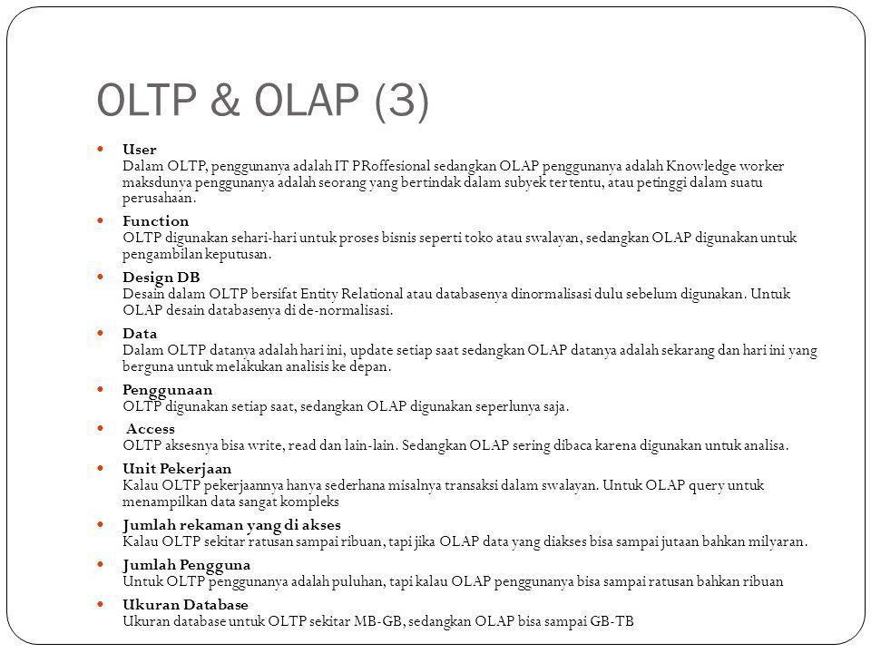 OLTP & OLAP (3)