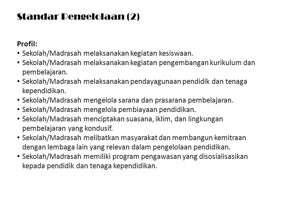 Standar Pengelolaan (2)