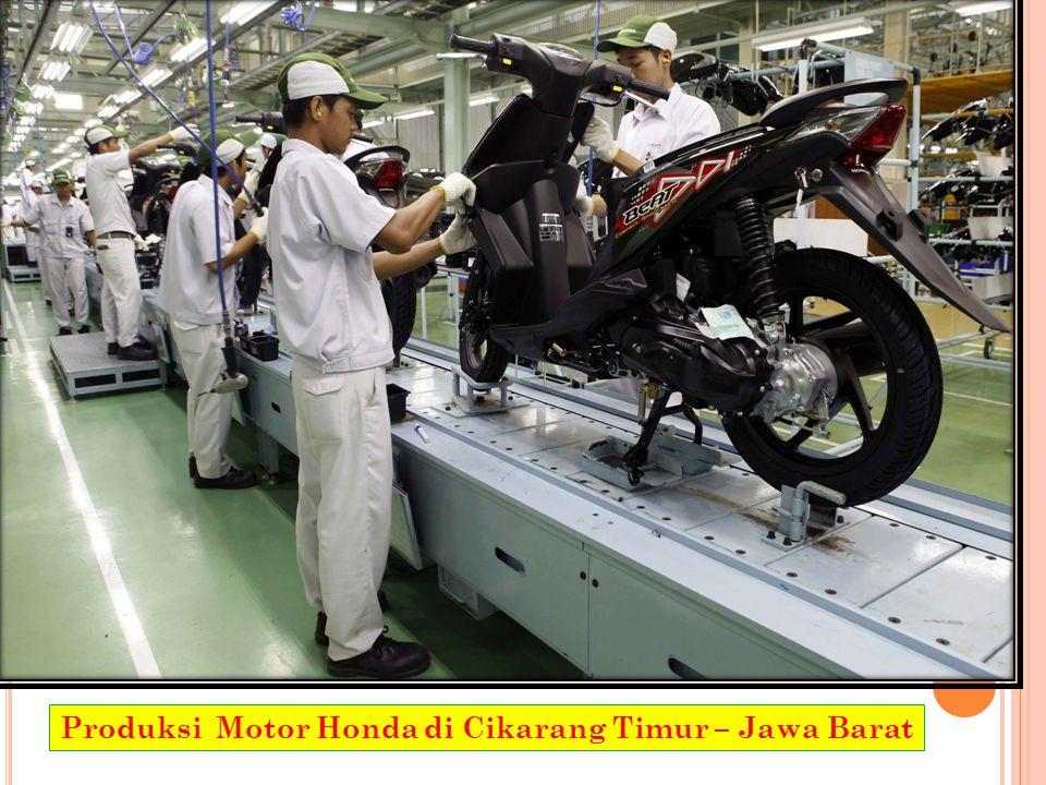 Produksi Motor Honda di Cikarang Timur – Jawa Barat